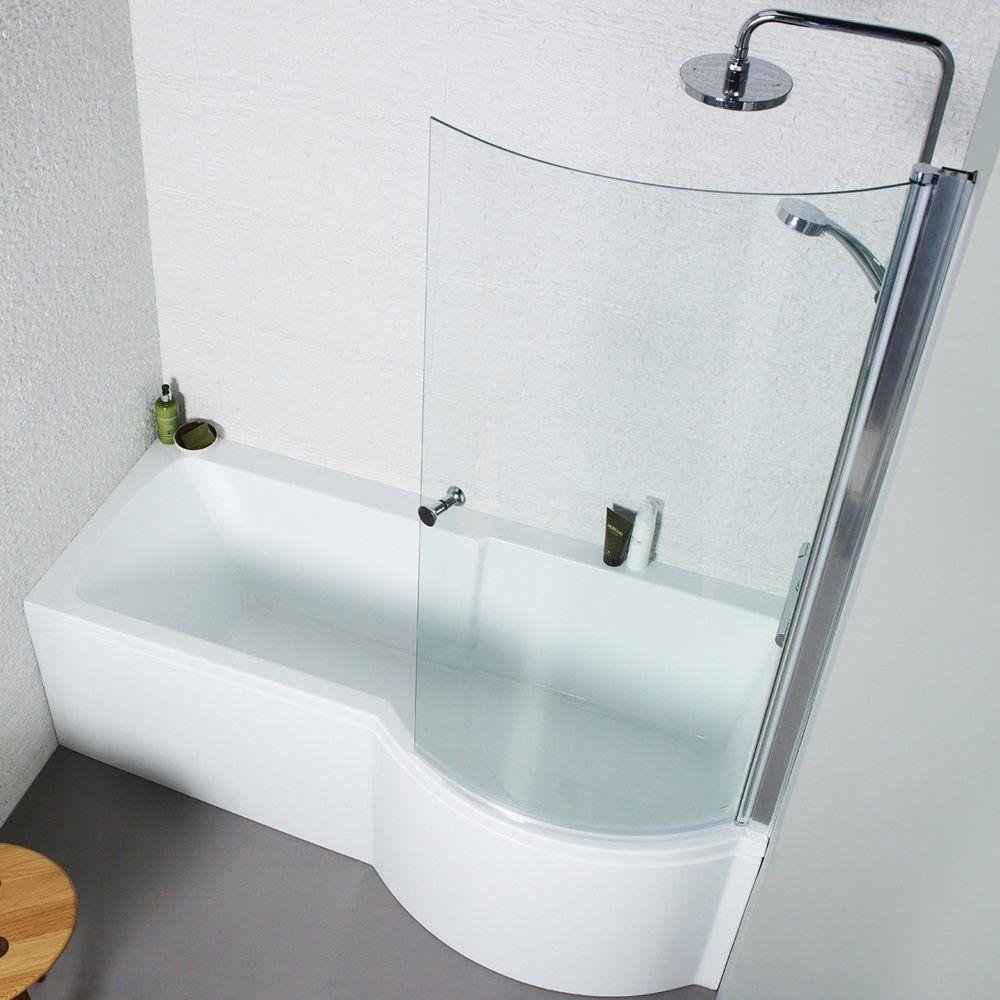 adapt p shape bath
