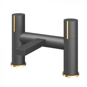 Bath Filler Black & Gold 82368